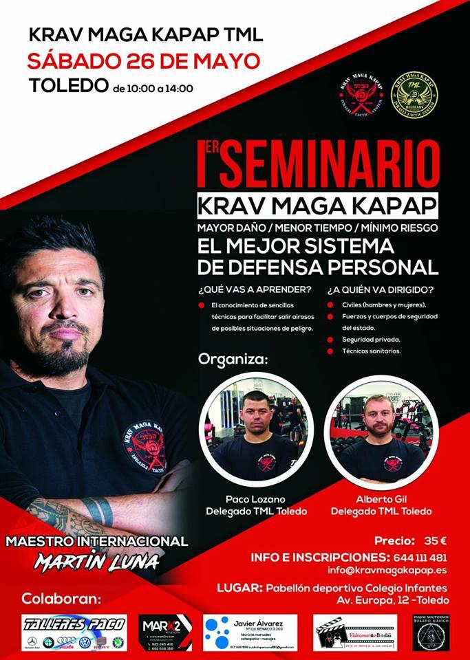 I Seminario Krav Maga Kapap TML en Toledo