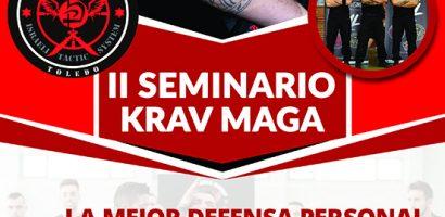 II Seminario Krav Maga Kapap TML en Toledo