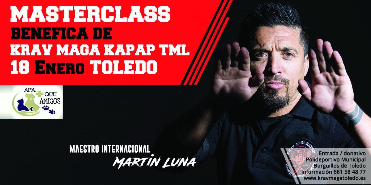 Masterclass benéfica de Krav Maga Kapap